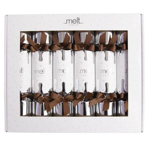 Box of Melt Chocolates luxury Christmas crackers