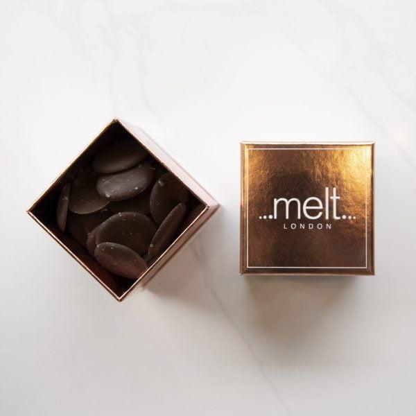 Melt's Dark Sea Salt Discs