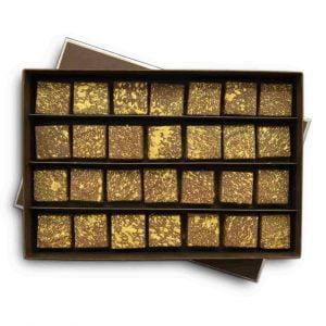 Popular Chocolate Pairings; Melt's Milk Salted Feuillantine Box.