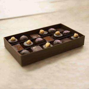 ways to use chocolate; melt's Vegan chocolate gift box