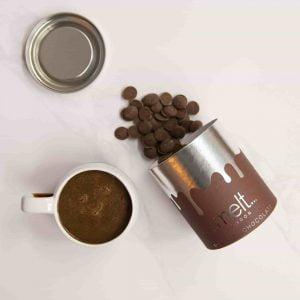 ways to use chocolate; Melt's milk hot chocolate